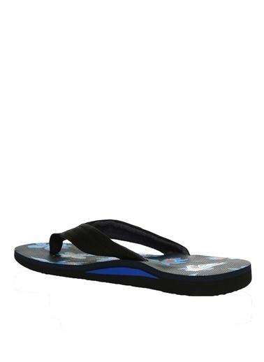 Quiksilver Quiksilver QUIKSILVER MOLOKAI LAYBACK  Beyaz - Siyah - Mavi Sandalet Beyaz